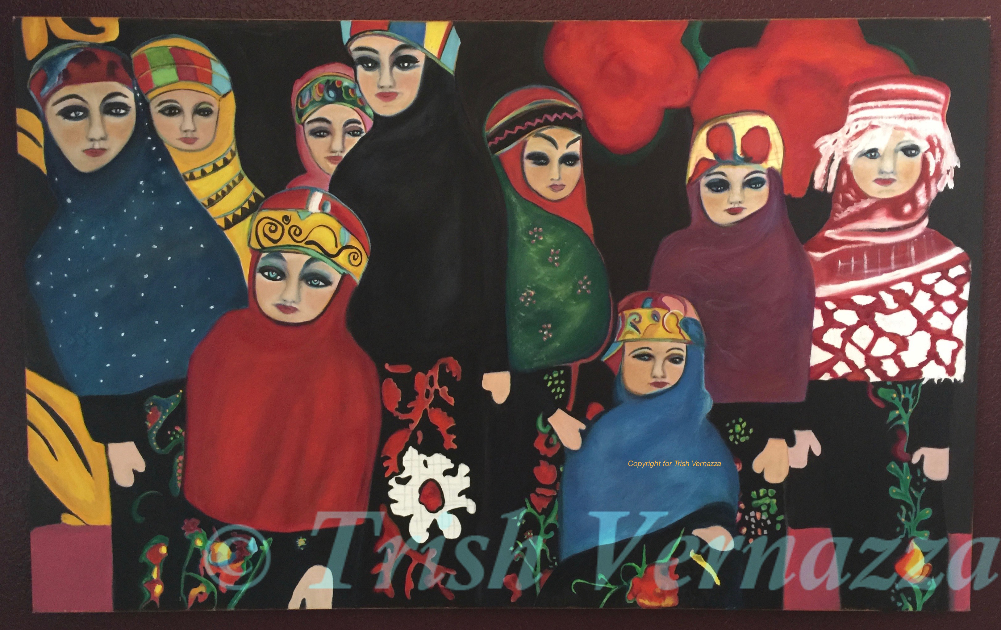 Trish Ethnic Dolls