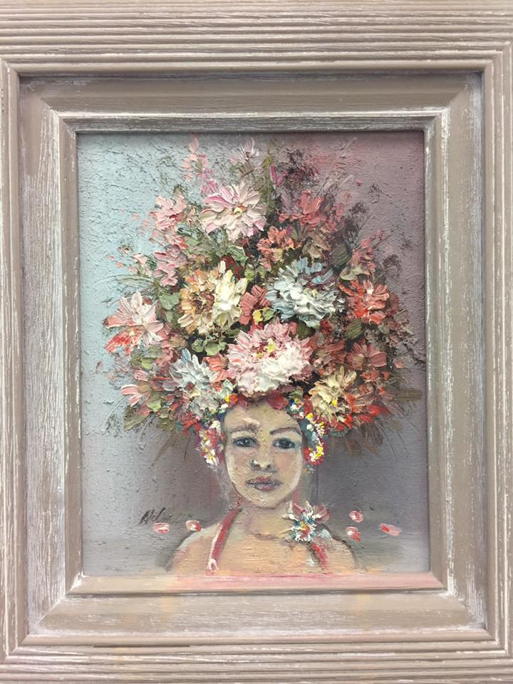 Flower Girl Leslie Trish Thrift store copy