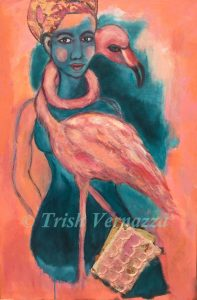 Flocking with My Flamingo watermark