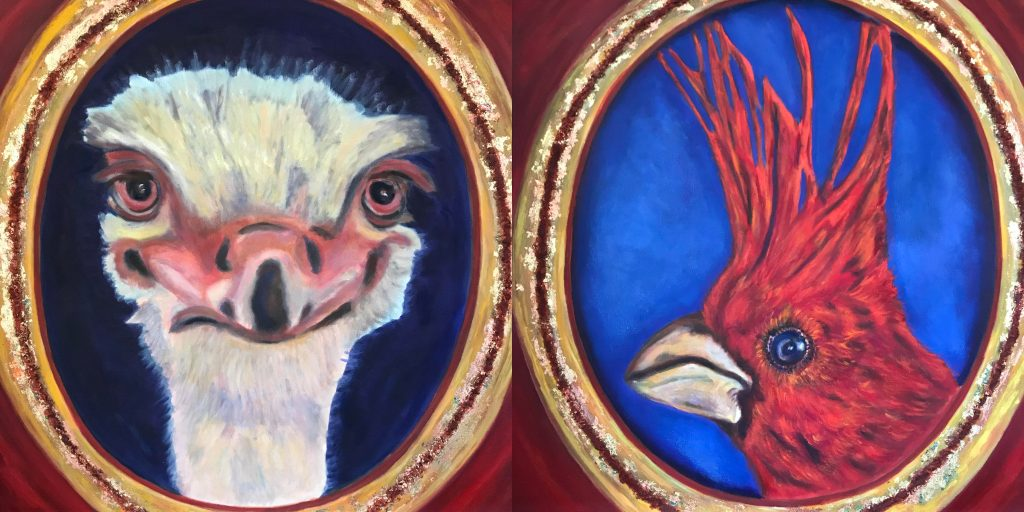 the royal couple diptych