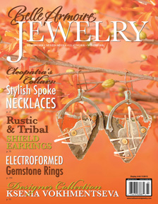 Featured in Belle Amoire Jewelry Fall 2012