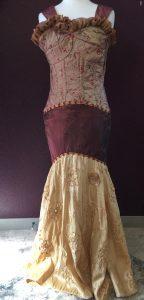Front Golden Gala Dress