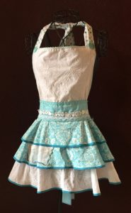 Teal Gardens Full Apron for Website