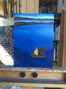 Social Isolation on Easel