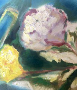 Brushstrokes of Flowers